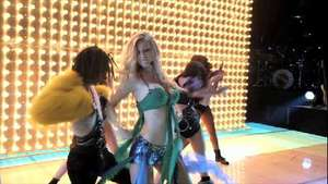 'Glee The 3D Concert Movie' Heather Morris performs 'I'm A Slave 4 U'