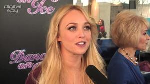Jorgie Porter chats Dancing On Ice