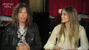 Jennifer Lopez, Randy Jackson and Steven Tyler on American Idol season 11