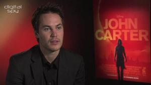 Twitter Q&A with Taylor Kitsch ('John Carter')