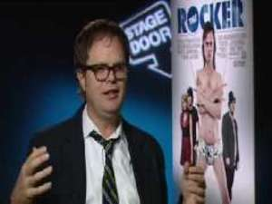 DS chats to Rainn Wilson about the joys of basking in the spotlight, including the surprisingly 'freeing' experience of playing the drums naked.