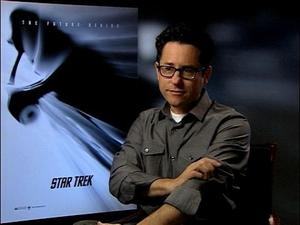 Lost creator JJ Abrams discusses his upcoming 'Star Trek' movie.
