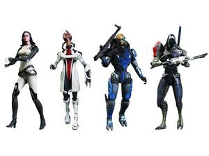 Mass Effect 3 collectable action figures