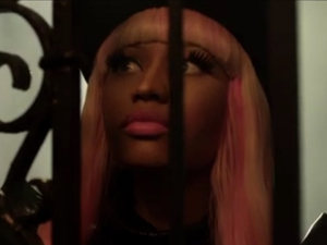 David Guetta and Nicki Minaj: 'Turn Me On' video still