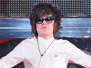 Frankie Cocozza is the runner up during the Celebrity Big Brother Final