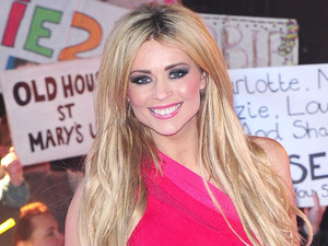 Evicted housemate Nicola Mclean arrives at the Celebrity Big Brother House during the live final