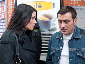 When Carla returns to work, Carla and Peter discuss what they should do next