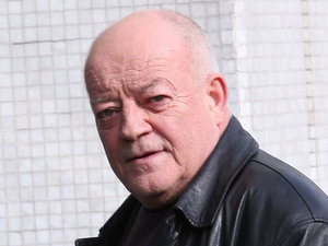 Tim Healy at the ITV studios London, England