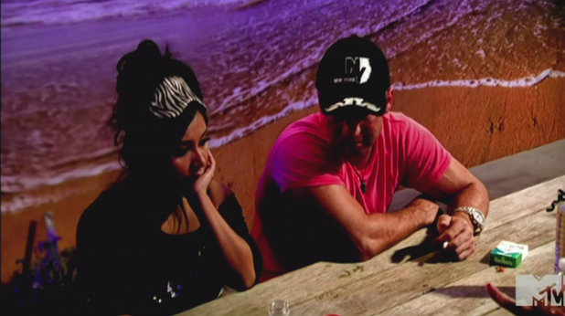 Nicole 'Snooki' Polizzi and Mike 'The Situation' Sorrentino MTV's 'Jersey Shore' Season 5, Episode 4 Free Vinny: Snooki and Deena get a swagger lesson from Pauly D and the house mates travel to Staten Island to bring Vinny back to the Shore