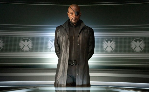 The Avengers: Nick Fury (Samuel L. Jackson).