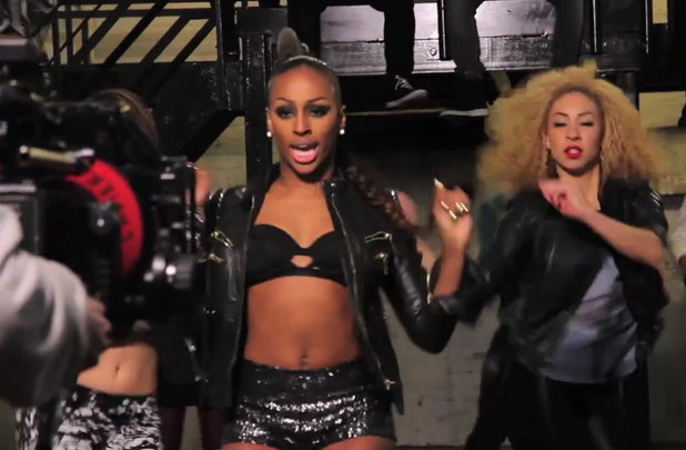 Alexandra Burke: 'Elephant' Behind the scenes still