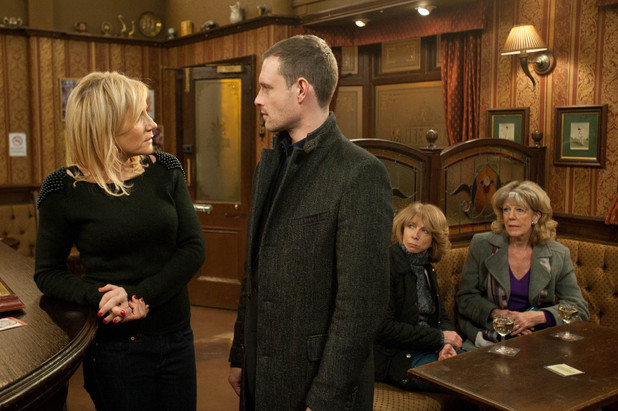 Stella has a go at Nick about going out with Eva, and Nick wishes he had never bothered trying to make inroads with her