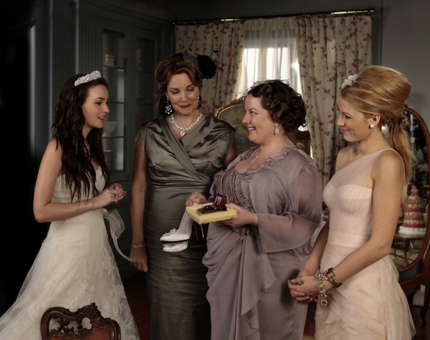 Blair, Eleanor, Dorota and Serena