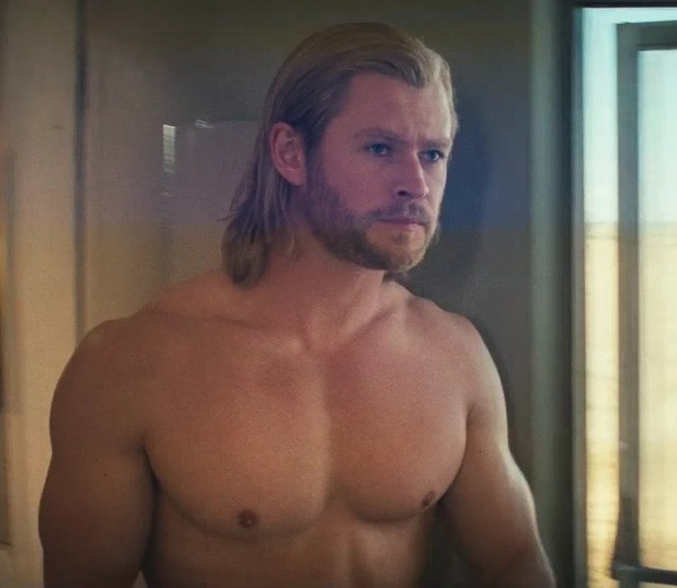 As seen in the Thor trailer
