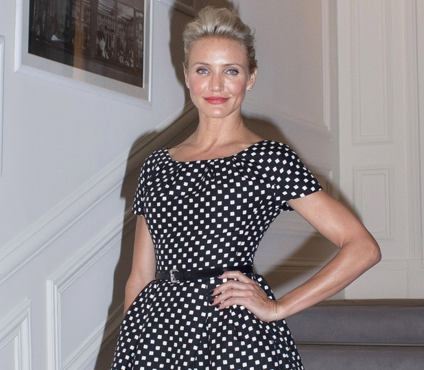 Cameron Diaz, Paris Fashion Week