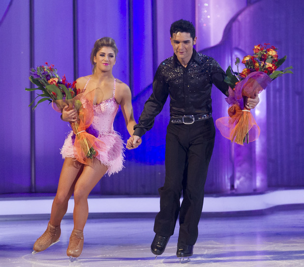 Corey becomes the next contestant to leave Dancing on Ice