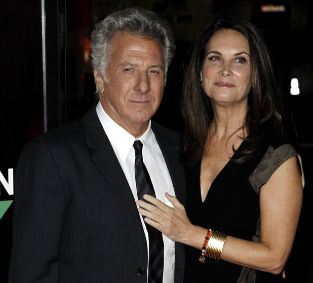 Dustin Hoffman and Lisa Gottsegen