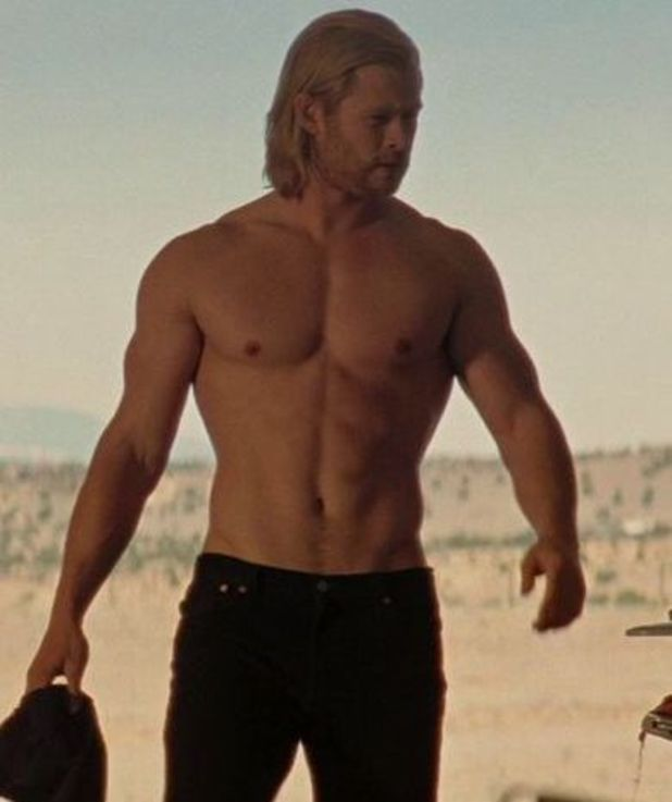 Chris Hemsworth in a scene from Thor