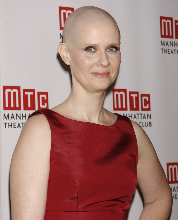 Cynthia Nixon Opening night after party for Manhattan Theatre Club's 'Wit', held at B.B. King Blues Club and Grill. New York City, USA
