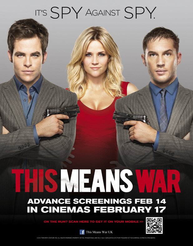 This Means War, Tom Hardy, Reese Witherspoon