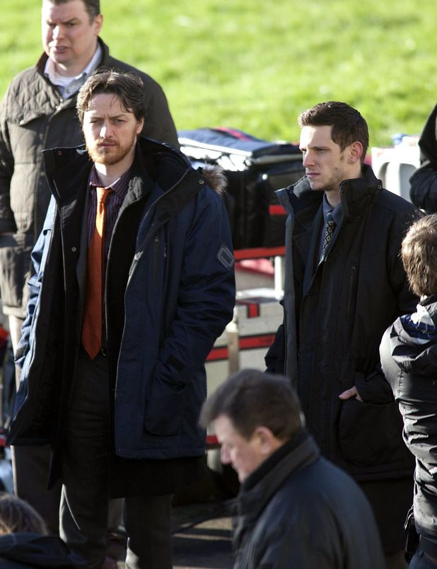 James McAvoy and Jamie Bell.