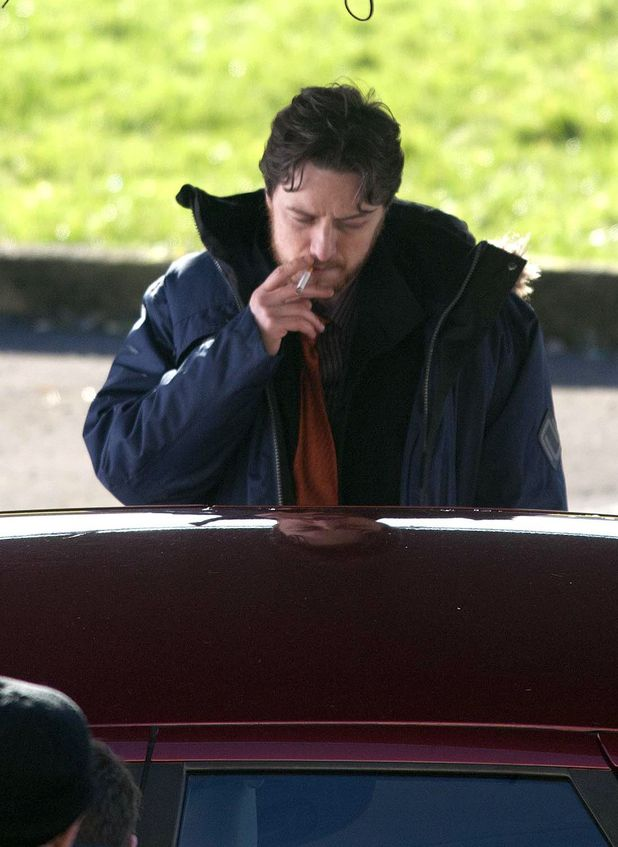 James McAvoy's dirty cop