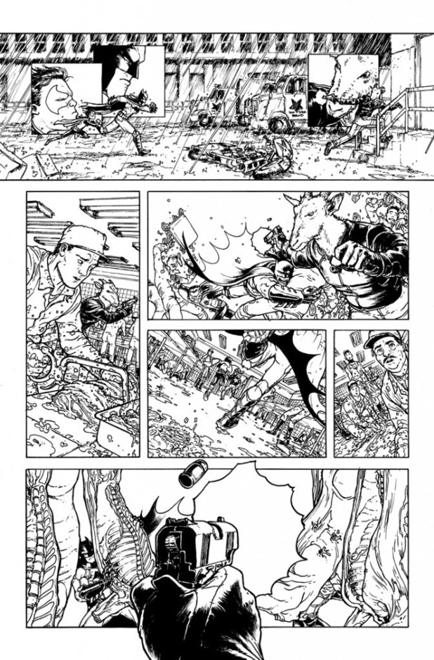 'Batman Incorporated': Chris Burnham pages