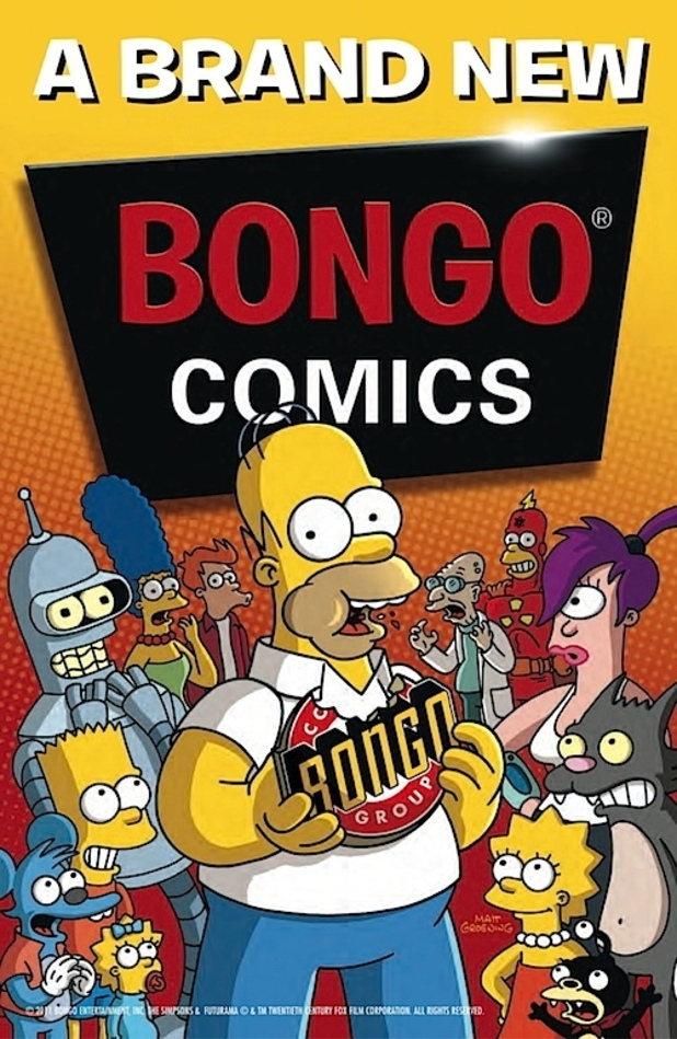 Bongo Comics New Logo
