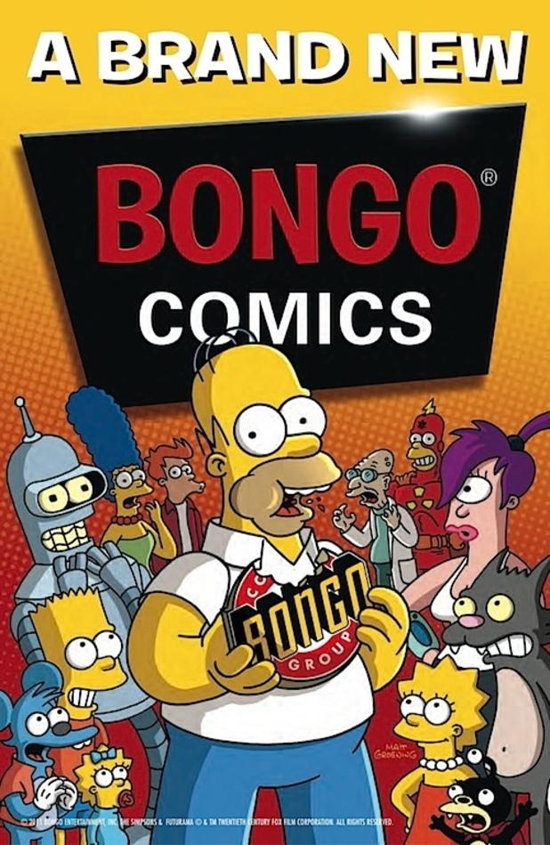 Bongo Comics New Logo