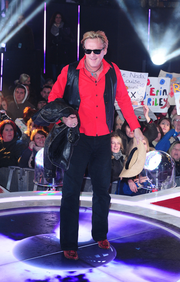 Michael Madsen is the second housemate to be evicted during the Celebrity Big Brother Final