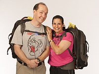 The Amazing Race Season 20: Married Clowns David & Cherie Gregg