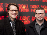 Adam Smith (Director) with Ed Simons (The Chemical Brothers)