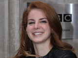 Lana Del Rey at the BBC Radio 2 studios London