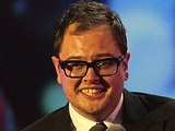 Alan Carr with the award for Best Talk Show on stage during the 2012 NTA Awards
