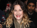 Drew Barrymore takes home an 8-week-old puppy called Oliver.