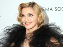 Madonna looks forward to the release of her album MDNA.
