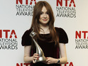 Karen Gillan talks backstage at the NTAs about her Doctor Who exit.