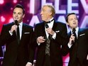 Presenting duo Ant & Dec reveal that Bruce Forsyth asked for the National Television Awards duet.