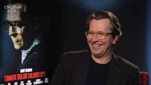 Gary Oldman 'Tinker Tailor Soldier Spy' interview