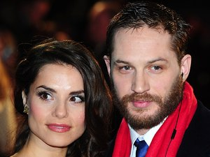 &#39;This Means War&#39; premiere gallery: Tom Hardy and girlfriend Charlotte Riley