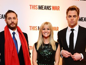 'This Means War' premiere gallery: Tom Hardy, Reese Witherspoon and Chris Pine