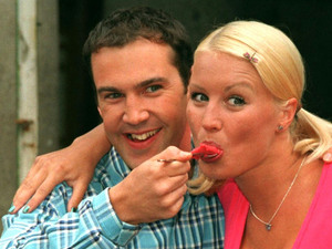 Johnny Vaughan, Denise Van Outen