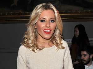 Mollie King London College of Fashion MA Fashion Design Technology Show: Poemtry held at the Victoria & Albert Museum. London,