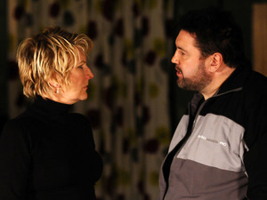 Andrew gives Shirley a stern warning