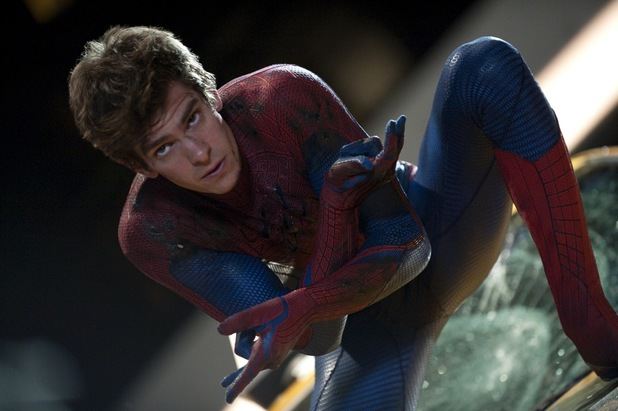 Andrew Garfield in 'The Amazing Spider-Man'.