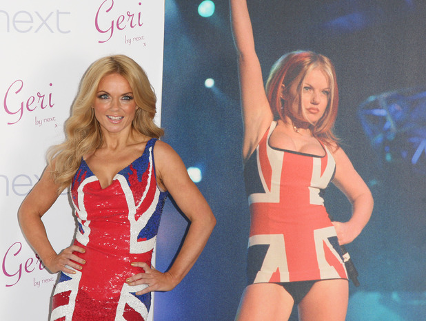 Geri Halliwell's Union Jack collection for Next