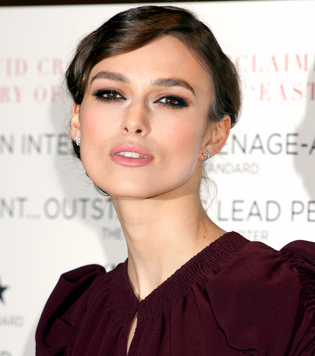 Keira Knightley at the Dangerous Method premiere
