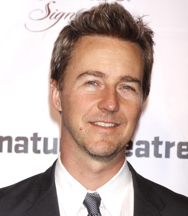 Edward Norton The Pershing Square Signature Center Opening Gala Celebration held at The Signature Center - Arrivals New York City