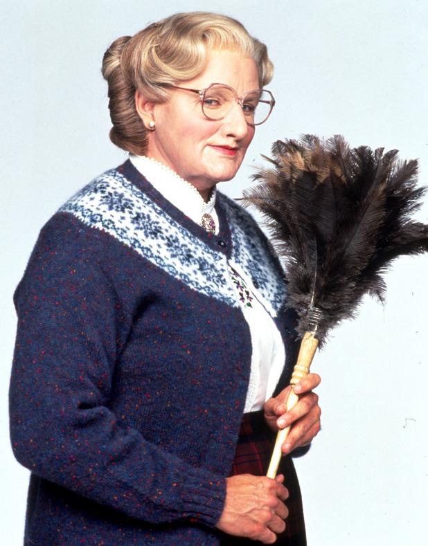 Mrs Doubtfire, Robin Williams