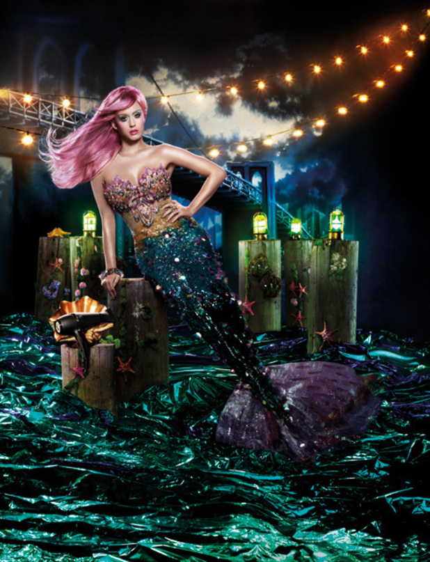 Katy Perry in her new GHD advert